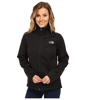 New Womens Coat The North Face Canyonwall Zip Coat Jacket Black Large