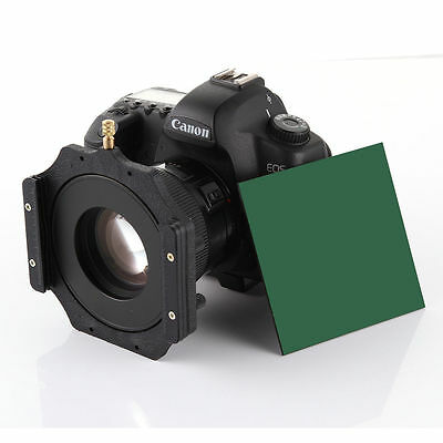 """100mm 4x4"""" ND1000 ND3.0 10 Stops Filter Square Neutral Density +Holder 77mm Ring"""