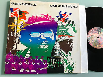 LP ITALY 1973 NM  Curtis Mayfield – Back To The World Label: Buddah Records –