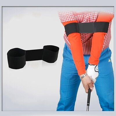 New Golf Swing Trainer Adjustable Band Beginner Swing Corrector Practical Aid