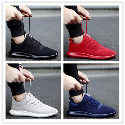 New Fashion Men's Casual Flats Shoes Running Sports Breathable Athletic shoes