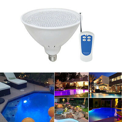 AC 12V 40W Par56 E27 DIP RGB LED Swimming Pool Light Fountain Bulb Lamp