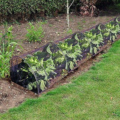 Kingfisher Grow Tunnel Mesh Net Vegetable Plant Protection Garden Allotment Crop
