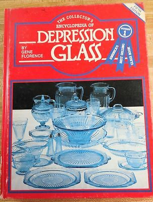 Collectors Encyclopedia of Depression Glass Fifth Edition Guide by Gene Florence