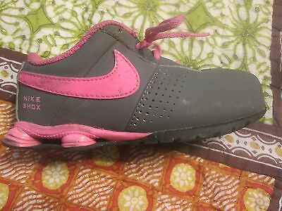 info for c4c02 2af9c ... low cost girls toddler nike shox deliver shoes grey pink black us size  10c 517220 006 ...