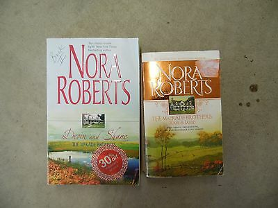 Lot of 2 Nora Roberts The MacKade Brothers Romance Paperback Books
