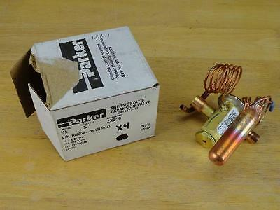 New Parker Thermostatic Expansion Valve HE 5 Ton 100254-01 041127-11 14W76