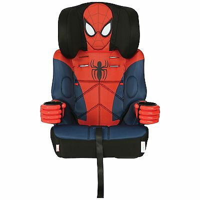 NEW Kids Embrace High Back Booster Car Seat - Spiderman, Group 1-2-3