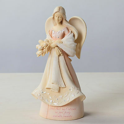 """FOUNDATIONS by Enesco Guardian Angel of Patience """"Given Freely""""~Sale!~#4026909"""