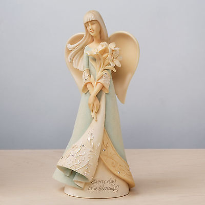 """FOUNDATIONS by Enesco Spring/Easter/Communion Angel """"Blessings""""~Sale!~#4032043"""