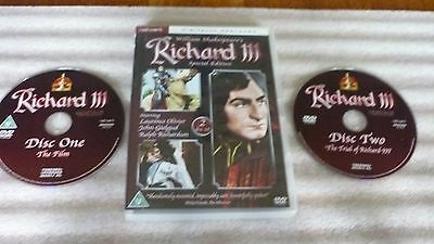Richard the 111 ( Dvd 2 Disc Remastered Special Edition )  Laurence Olivier