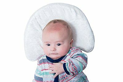 Newborn Head Shaping Pillow that Prevents Plagiocephaly, Bamboo Pillowcase with