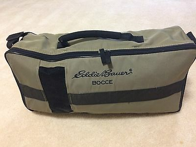 Eddie Bauer Bocce Ball Carrying Case Exc.
