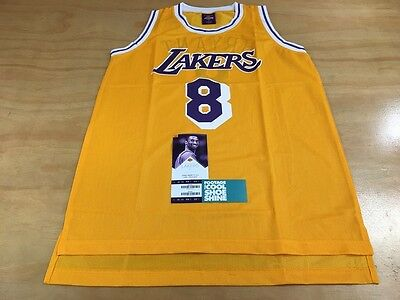 d6fe25507 Links Marketing Group Los Angeles Lakers  8 Kobe Bryant Basketball Jersey  Yellow