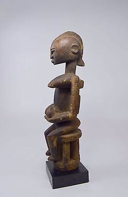 A Very Fine Old Dogon Female Senou Maternity sculpture , African Tribal Art