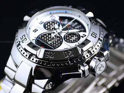 New $2,395 Invicta Reserve 50mm Swiss Cage Dial Retro Chrono High Polish Watch
