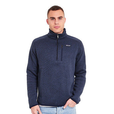 Patagonia - Better Sweater 1/4 Zip Fleece Jacket Classic Navy Pullover Rundhals