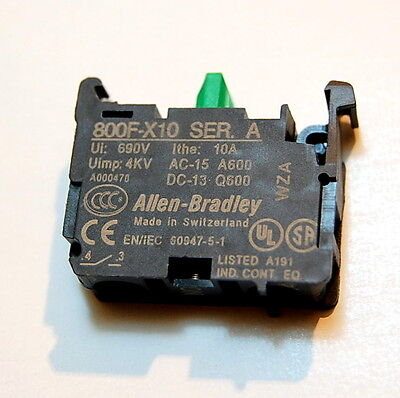 Allen Bradley 800F-X10  New Oem Switzerland