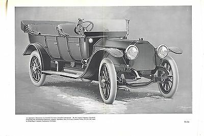 Antique Ad-Print-1913-Peerless 6 Touring Car-Peerless Motor Car Co. Cleveland OH