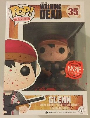 The Walking Dead Funko Pop Glenn Man Of Action Figures Exclusive