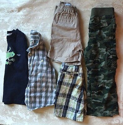 Lot of 5  Boys Toddler Clothes  Size 3T