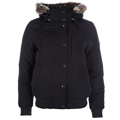 Womens Levi&Apos;S Short Down Parka In Black From Get The Label