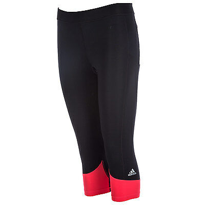Womens adidas Womens Techfit Capri Tights in Black - 8-10 From Get The Label