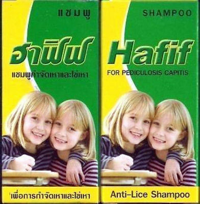 Hafif Anti Hair Lice Shampoo For Children Or Adults Simply Wash Your Hair