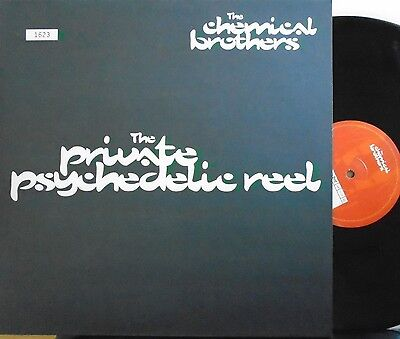 """CHEMICAL BROTHERS Private Psychedelic Reel 12"""" Single PS LTD ED #1623 & POSTER"""