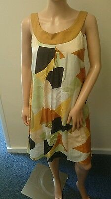 Limited Collection Multi Patterned Colorful Dress (UK Ladies Size 10)