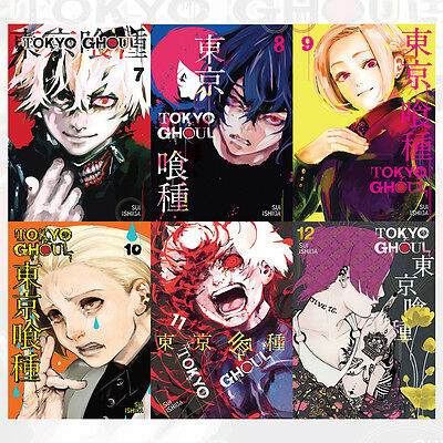 Sui Ishida Collection Tokyo Ghoul Series Vol (7 to 12) 6 Books Set Tokyo Ghoul,