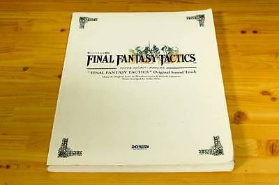 1998-Final Fantasy TACTICS Original Soundtrack Piano Sheet Music Score Book 1st.