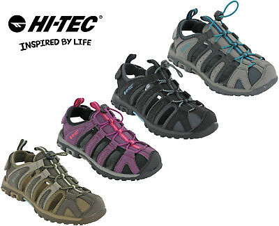a16082c68afa Hi-tec Walking Sandals Closed Toe Womens Slingback Cove Comfort Hiking Flats