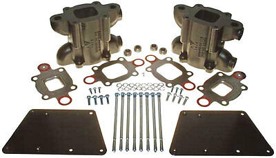 "MerCruiser Manifold-to-Riser 6"" Space Block Kit ~ DRY JOINT ~ Replaces 864908A1"