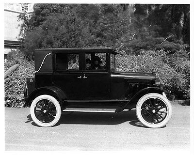 1924 Willys Overland Champion ORIGINAL Factory Photograph Glass Negative oad4412