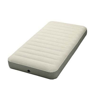 "Intex Deluxe Dura-Beam Series 10"" Single-High Contoured Airbed Mattress, Twin"