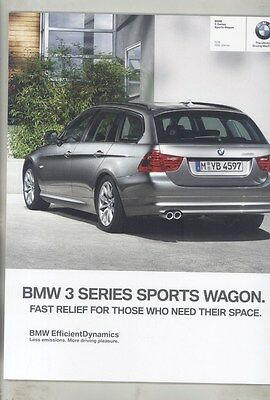 2012 BMW 328i & 328i xDrive Sports Wagon Prestige Brochure d0960