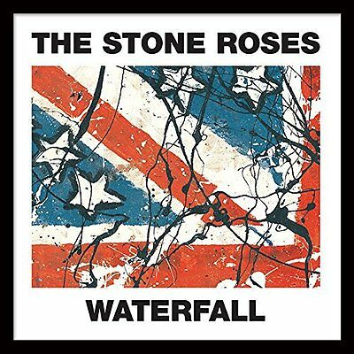 """The Stone Roses (Waterfall) 12"""" Framed Classic Album Sleeve"""