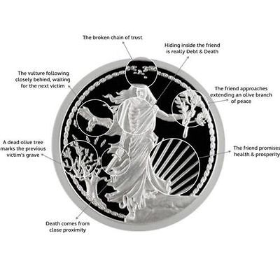 1 Oz Silver Coin Proof Enemy Unknown *only 100 #* Double Obverse Original Sbss