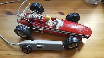 Jouet Ancien Voiture Filoguidee Joustra F1 Indianapolis N°8