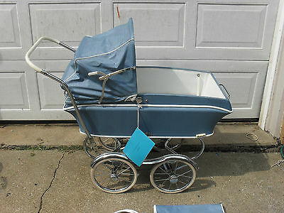 Antique 1968 Rex Baby Carriage Buggy Stroller