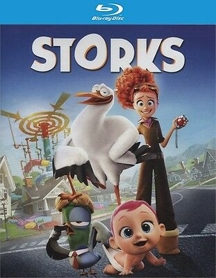 Storks (Blu-ray Disc ONLY, 2017)