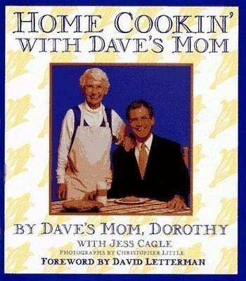 Dorothy Letterman and Jess Cagle HOME COOKIN' WITH DAVE'S MOM hc book (1996)