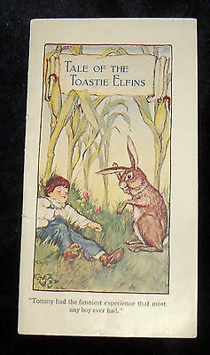 Antique 1914 Tale of the Toastie Elfins Storybook Advertising Postum Cereal POST