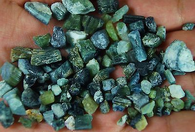 Green Rough Tourmaline Crystal lot mineral specimen 260 Carats from Afghanistan