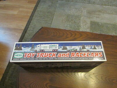 Hess Toy Truck And Race Cars 2003 In Original Box