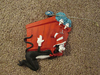 Dr. Seuss The Cat in the Hat Ornament Thing 1 & 2 Universal studios 2003
