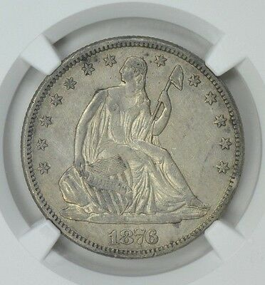 Very Rare ~ 1876~Cc ~ Liberty  Seated  Half ~ Ngc~Xf~40 ~ Awesome Coin ~ $478.88
