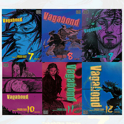VAGABOND VIZBIG ED GN Series Vol (7 to 12) 6 Books By Takehiko Inoue Set Pack