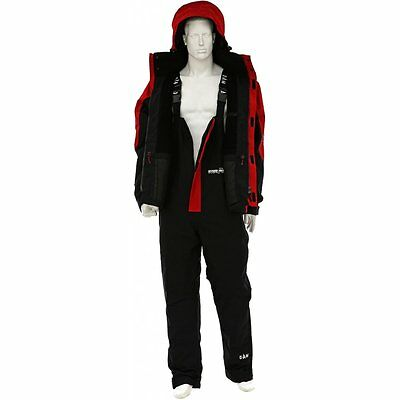 DAM SteelPower Red Thermo Suit XXL Storm Suit 2-teiler ANGEBOT